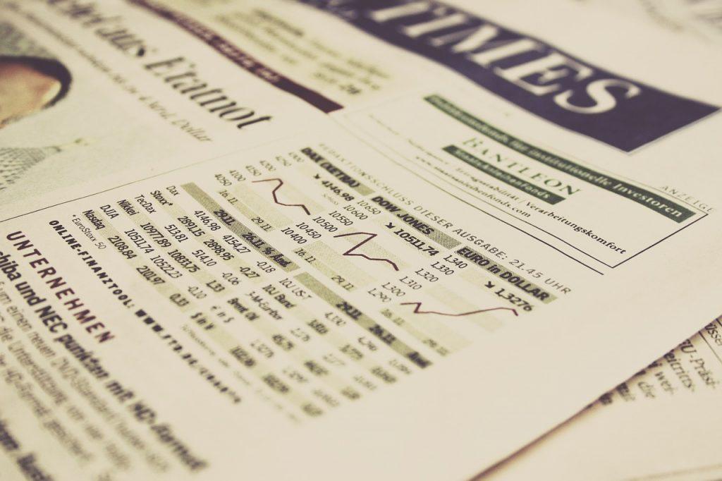 financiële krant