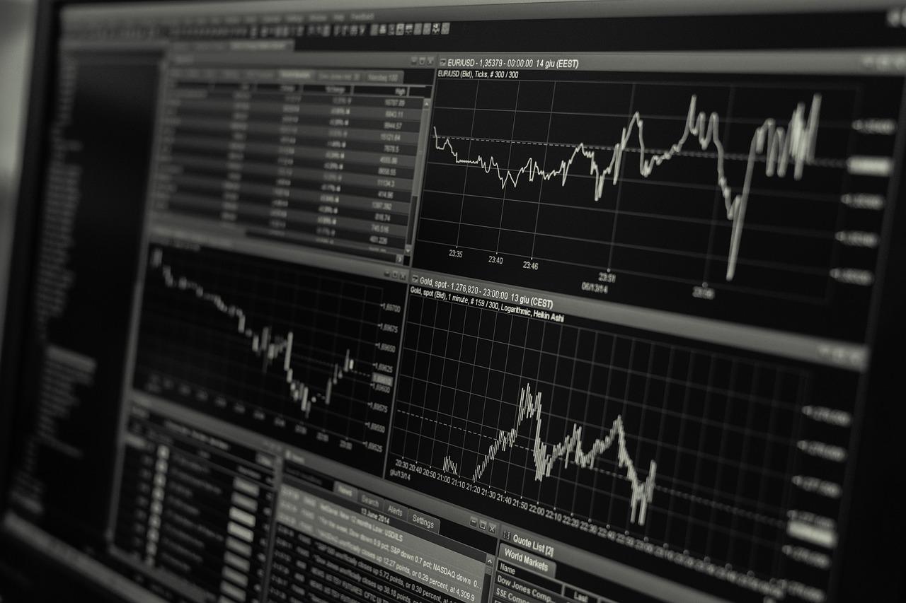 beleggingen grafiek opvolgen